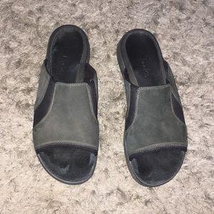 Open toe clarks